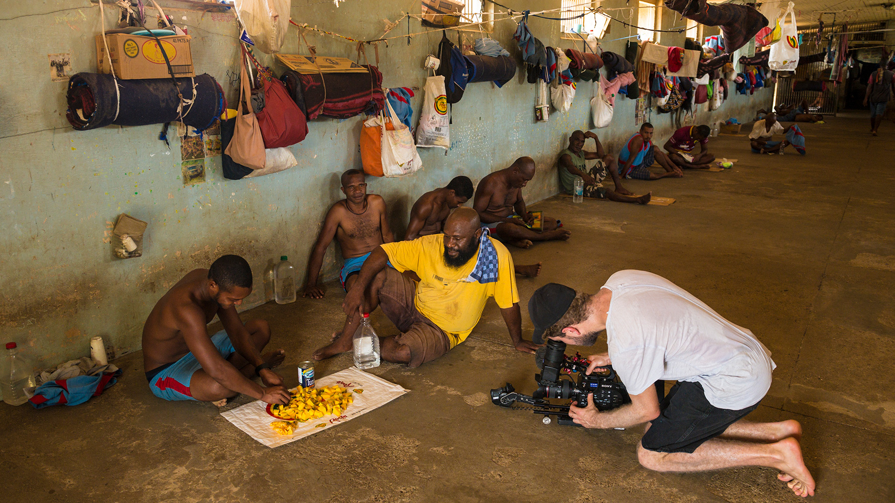 Director-filming-in-PNG-cell