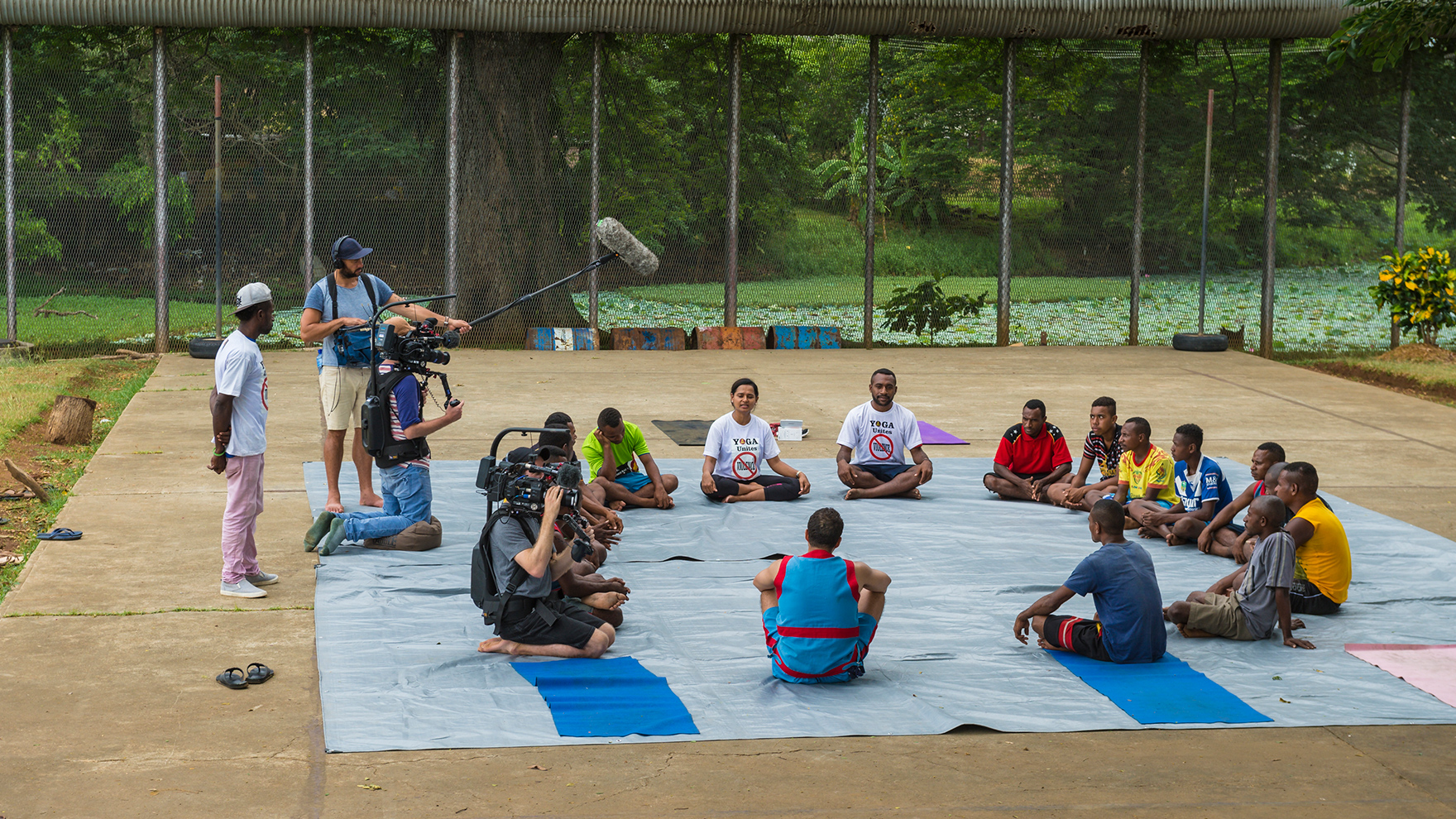 RR-with-PNG-Prisoners-doing-Yoga