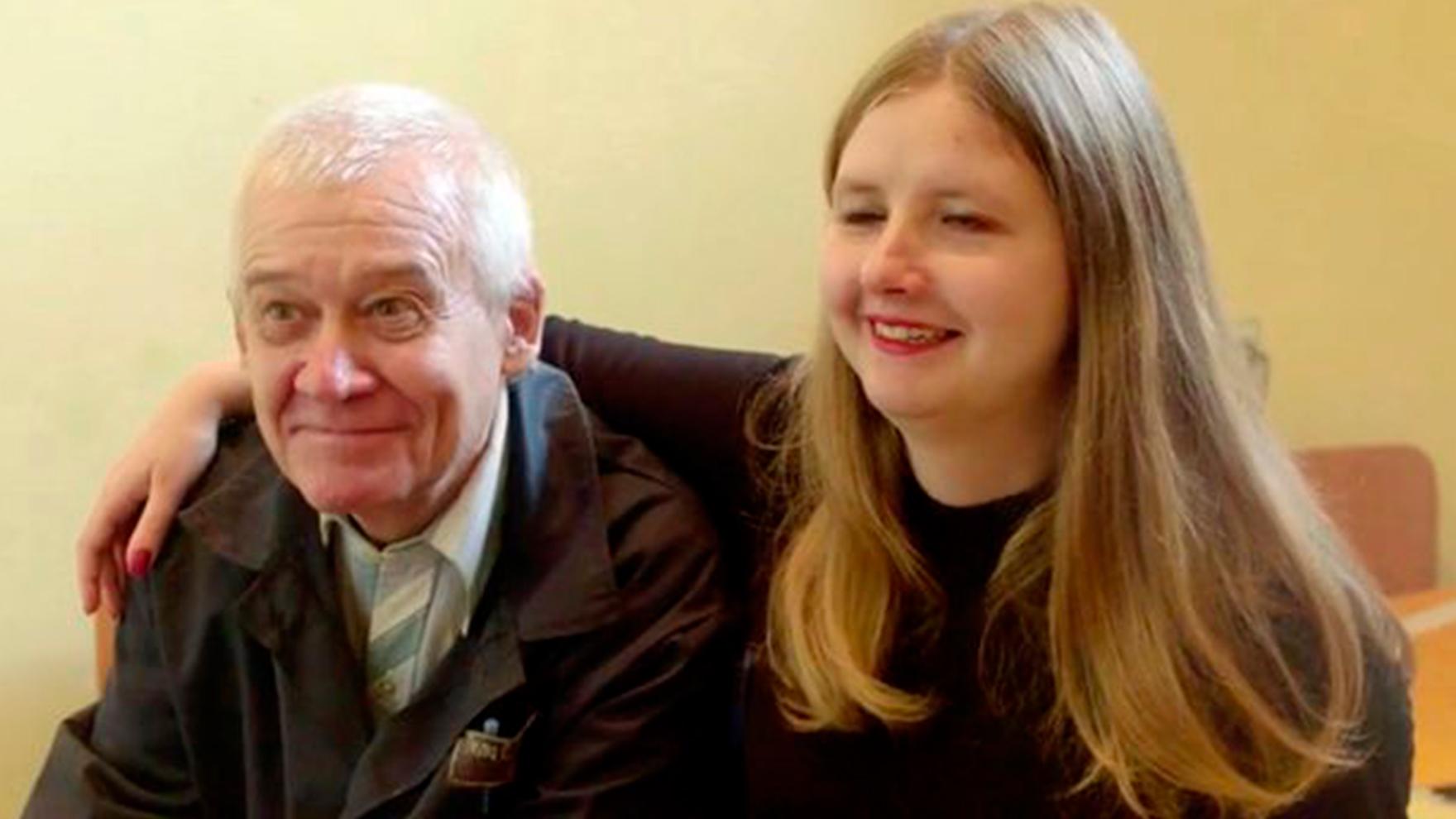 Sergey-Tkach-with-his-25-year-old-wife-Elena