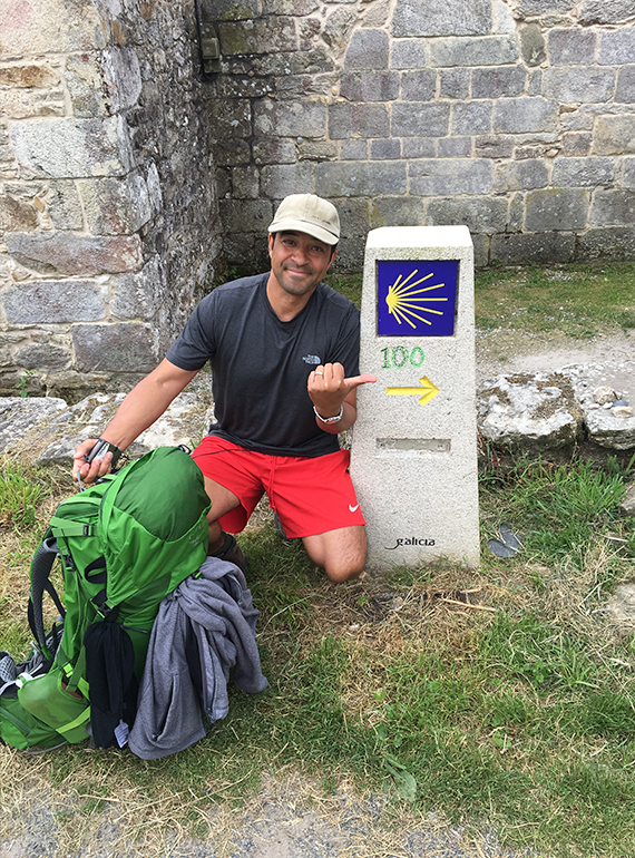 What were you hoping to experience travelling the famous medieval pilgrimage, Camino de Santiago?