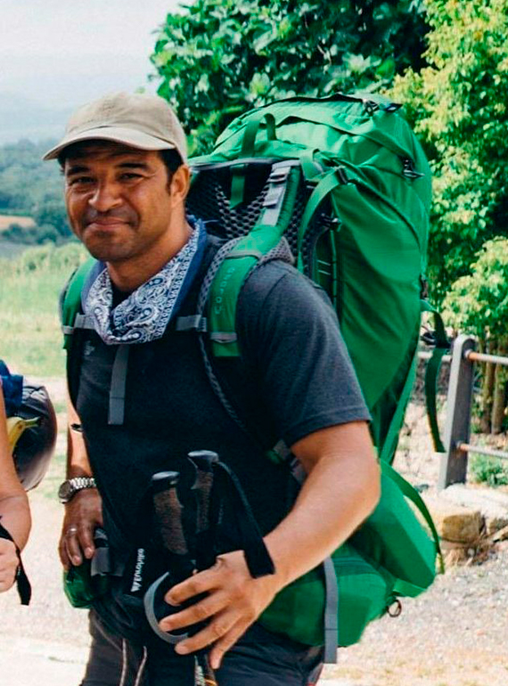 ROWE ON THE ROAD,  BBC Two's Pilgrimage: The Road To Santiago